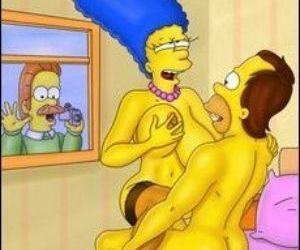 Picture- marge simpson fucking in her bedroom