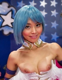 Asian marica hase takes deep double penetration in sosplay group sex orgy - part 3748