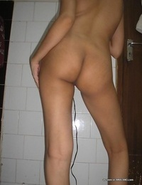 Compilation of an asian hoe posing naked in the house - part 197