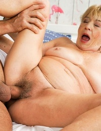Youthful man mugur is rock hard for malya a busty granny with nymphoman - part 2011